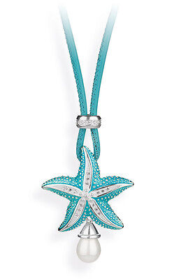 Starfish Pendant with Necklace and Threader + Pearl Heartbreaker by Drachenfels
