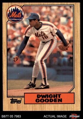 1987 Topps #130 Dwight Gooden Mets NM/MT