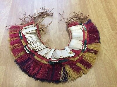 Vintage. Papua New Guinea, Traditional Grass Skirt,  Tribal Art