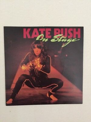 """Kate Bush, 'On Stage"""" 4 track EP, 7 inch"""