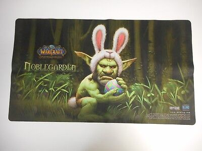 World of Warcraft Noblegarden Goblin Bunny Playmant Promo Mouse Pad
