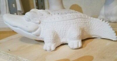 Latex only mold baby alligator  mould plaster concrete casting garden mould