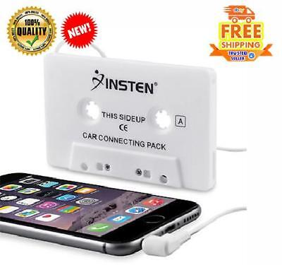 Car Converter Cassette Tape Adapter To Audio Aux Cable 3.5 mm For Iphone Samsung