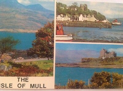 The Isle of Mull postcard