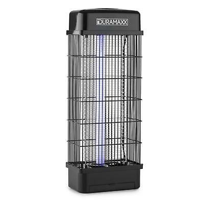 Quick Insect Mosquito Fly Bug Killer Electric Zapper Uv Light Black Portable 15W