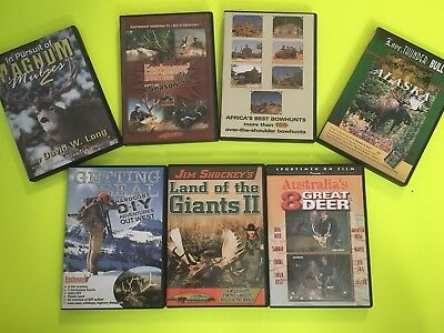 Hunting DVDs Lot of 7