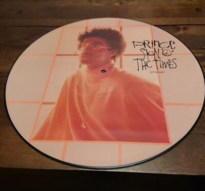 Prince Sign Of 'O' The Times 12'' Picture Disc Record Revolution NPG