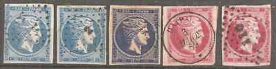 Greece Little Lot Mixed Condition Some Very Fine 4 Scans To Study