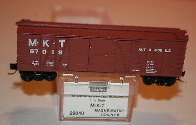 Micro-Trains Line M-K-T Automobile 67019 40' Box Car # 29040 N Scale SC 50G
