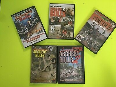 Hunting DVDs Lot of 5
