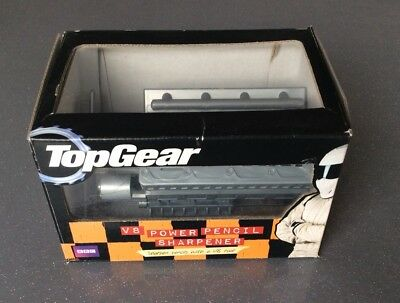 Top Gear V8 Pencil Sharpener.Boxed As New.Unused.