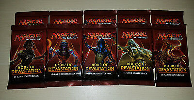 Magic the Gathering - Hour of Devastation - 10x Booster - engl. - OVP ungeöffnet