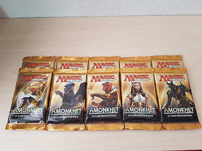 Magic the Gathering - Amonkhet - 10x Booster - engl. - OVP ungeöffnet