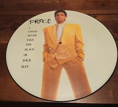 """PRINCE - I Could Never Take The Place Of Your Man (12"""")  Picture Disc"""