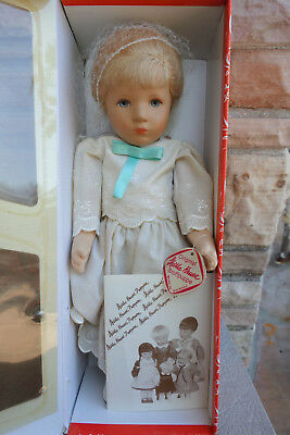 Kathe Kruse Doll Mint in Box with Tag 14""