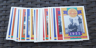 Disneyland Collectors' Series 40th Anniversary Trading Card Set 38 cards