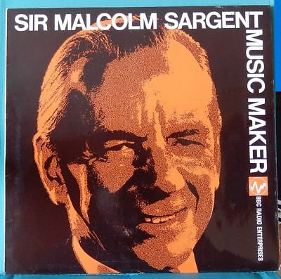 "Sir Malcolm Sargent Music Maker Vinyl LP 12"" record"