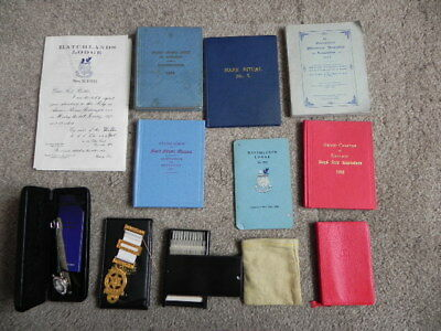 Job lot Masonic Books etc (1955 onwards)