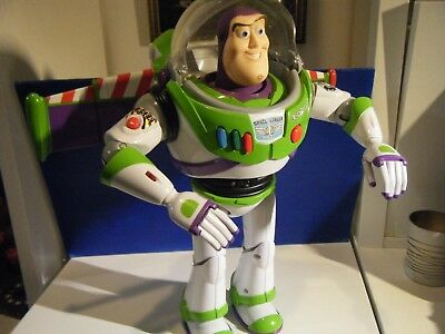 12 Inch Electronic Talking Buzz Lightyear Figure From Disney Pixars Toy Story