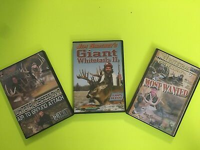 Hunting DVDs Lot of 3