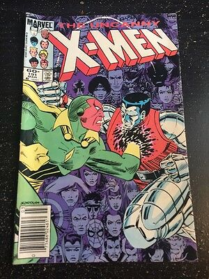 Uncanny X-men#191 Awesome Condition 7.5(1985) 1st Nimrod Appearence!!