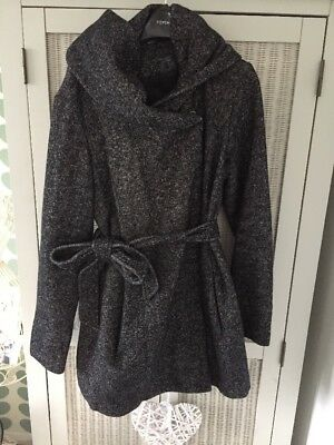 New Look Maternity Coat With Hood Size 12