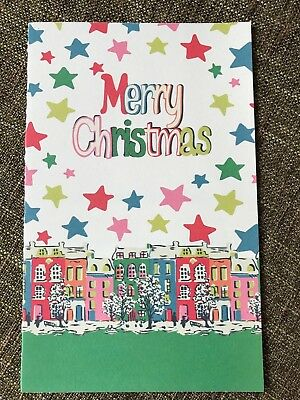 Cath Kidston Christmas card - promotional card sent to customers