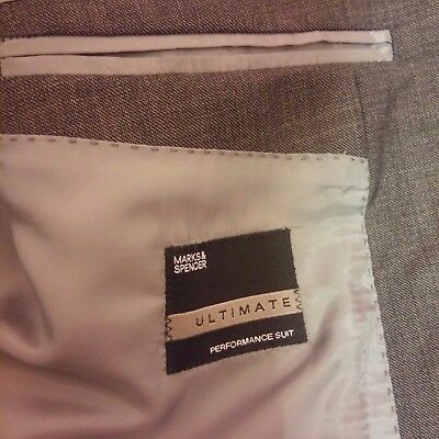 MENS MARKS & SPENCERS ULTIMATE PERFORMANCE SUIT 46in CHEST/40in/W BY 31in LEG