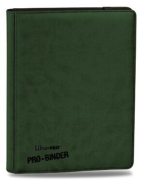 Ultra PRO - Premium Pro-Binder - 9-Pocket Portfolio - Green