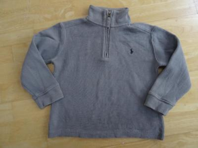 RALPH LAUREN POLO boys grey sweatshirt jumper AGE 2-3 YEARS 3T AUTHENTIC