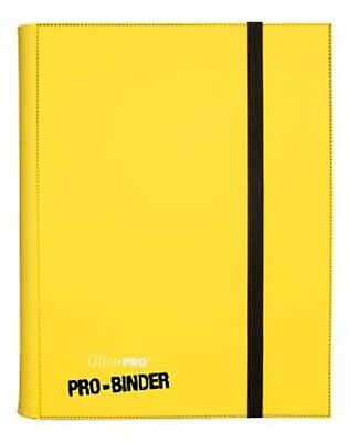 Ultra PRO - Pro-Binder - 9-Pocket Portfolio - Yellow - OVP