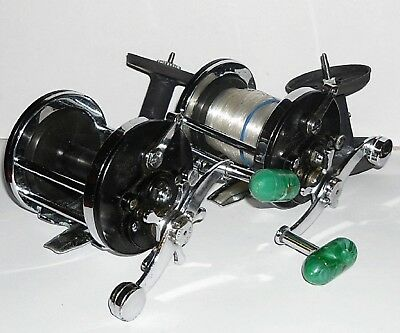 2 Vintage Penn Surfmaster No 200 Multiplier Reels