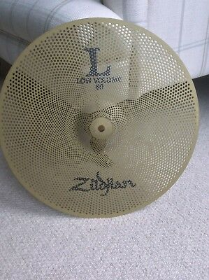 Zildjian L80 Low Volume 16 Inch Crash - Barely Used- Ideal For Quiet Practice