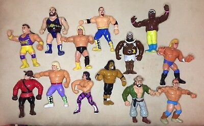 WWF Hasbro Figures - 13 Figure Bundle Joblot
