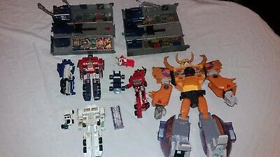 Transformers G1 & G2 Spares & Repair Job Lot Optimus / Unicron / Inferno / Other