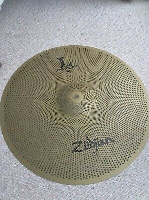 Zildjian L80 Low Volume 20 Inch Ride- Barely Used- Ideal For Quiet Practice