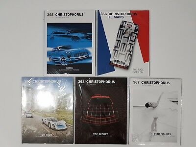 Porsche Christophorus magazine 2014 - Issues 1 - 5 lot of 5 used collectible