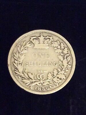 King William 1V One Shilling Coin Dated 1836, Fine Condition.