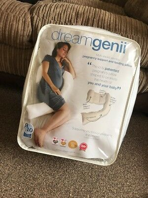 DreamGenii Pregnancy Maternity and Feeding Support Pillow