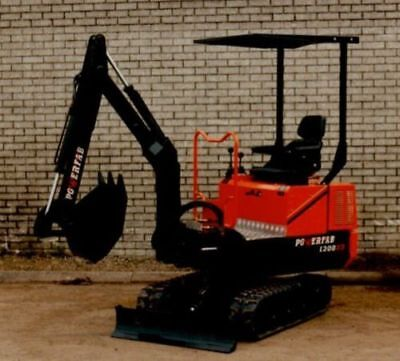 Tracked Mini Backhoe Mini Excavator Trench Digger Plans Diy Build Your Own