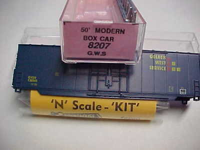 N Scale Roundhouse Box Car Kits 7 Road Numbers