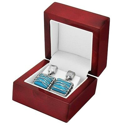 6 Rosewood Earring Boxes Pendant Boxes Jewelry Display Gift Boxes