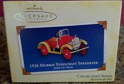 2005 Hallmark Ornament 1926 MURRAY STEELCRAFT SPEEDSTER 12th in Series  NIB