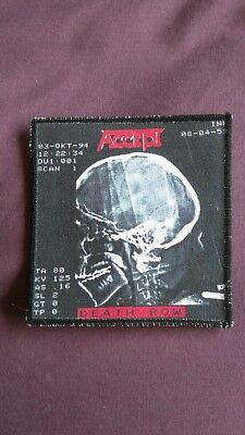 Accept Death Row patch