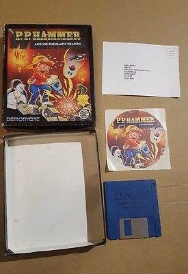 P.p. Hammer And His Pneumatic Weapon ( Boxed ) Amiga