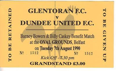 1990/91    Glentoran     v     Dundee Utd    Benefit    Complete   PERFECT