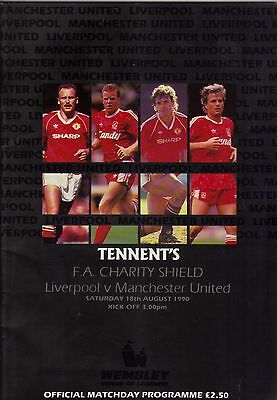 1990 Charity Shield   Liverpool     v      Manchester United     Excellent