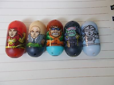 Marvel Mighty Beanz Lot, Red Phoenix 57, Cyclops Skrull (Zombie) 42 & More!