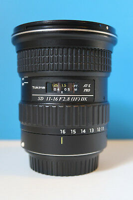 Tokina AT-X PRO SD 11-16mm f/2.8 DX (IF) per Canon 50D, 60D, 70D, 80D, 7D, 750D