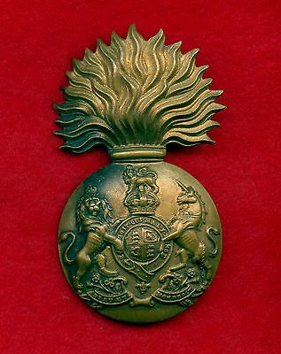"WW2 Great Britain Soots Fusilliers ""Busby"" Cap Badge 3"" High"